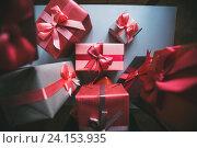 Различные подарочные коробки. Стоковое фото, фотограф Pavel Ivanov / Фотобанк Лори