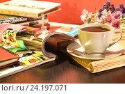 Купить «Кофейная композиция», фото № 24197071, снято 25 октября 2014 г. (c) Виктор Топорков / Фотобанк Лори