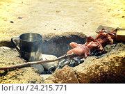 Походная еда. Стоковое фото, фотограф Дарья Арифуллина / Фотобанк Лори