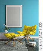 Интерьер современной комнаты, иллюстрация № 24217335 (c) Hemul / Фотобанк Лори