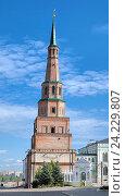 Купить «Башня Сююмбике в Казанском кремле», фото № 24229807, снято 25 июля 2012 г. (c) Михаил Марковский / Фотобанк Лори