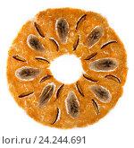 Купить «Сладкая фруктовая пастила круглой формы на белом фоне», фото № 24244691, снято 18 ноября 2016 г. (c) V.Ivantsov / Фотобанк Лори