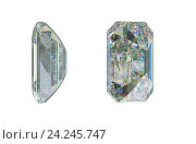 Купить «Драгоценный камень на белом фоне», иллюстрация № 24245747 (c) Арсений Герасименко / Фотобанк Лори