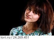 Купить «Young pretty girl», фото № 24269451, снято 20 ноября 2016 г. (c) Art Konovalov / Фотобанк Лори