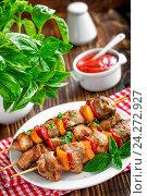 Купить «Kebab», фото № 24272927, снято 14 сентября 2014 г. (c) easy Fotostock / Фотобанк Лори
