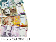 Банкноты республики Армения, иллюстрация № 24288751 (c) Евгений Ткачёв / Фотобанк Лори