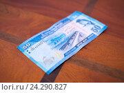Банкнота 50 рупий. Стоковое фото, фотограф Павел Лиховицкий / Фотобанк Лори