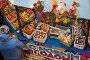 Прилавок в ГУМе с елочными игрушками в предновогодние дни в городе Москве, Россия, фото № 24310027, снято 3 декабря 2016 г. (c) Николай Винокуров / Фотобанк Лори