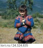 Купить «Norway, Lapland, boy, semen, national costume Finnmark, Norwegian Lapland, child, clothes, traditionally, tradition, Laplander, semen», фото № 24324835, снято 23 мая 2018 г. (c) mauritius images / Фотобанк Лори