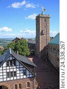 Купить «Germany, Thuringia, Eisenach, Castle, Wartburg, UNESCO World Heritage», фото № 24338267, снято 22 июня 2012 г. (c) mauritius images / Фотобанк Лори