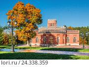 Купить «Москва. Павильон в Царицыне. Pavilion in Tsaritsyno», фото № 24338359, снято 1 октября 2016 г. (c) Baturina Yuliya / Фотобанк Лори