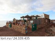 Купить «Spain, Canary Islands, Lanzarote, Playa Blanca, beach, attraction, restaurant, vacation, recreation», фото № 24339435, снято 24 июня 2018 г. (c) mauritius images / Фотобанк Лори