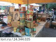 "Купить «Flea market ""Monastiraki"" in Athen, Greece», фото № 24344035, снято 17 июня 2019 г. (c) mauritius images / Фотобанк Лори"
