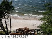 Купить «Poland, West Pomeranian, Wolin, Miedzyzdroje, German Misdroy, Kawcza», фото № 24373527, снято 21 июля 2019 г. (c) mauritius images / Фотобанк Лори