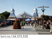 Купить «Poland, West Pomeranian, Wolin, Miedzyzdroje, German Misdroy», фото № 24373535, снято 21 июля 2019 г. (c) mauritius images / Фотобанк Лори