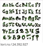 Английский алфавит на белом фоне. Стоковое фото, фотограф Екатерина Голубкова / Фотобанк Лори