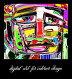 Цифровая абстрактная картина - мужской портрет, иллюстрация № 24396279 (c) Олеся Каракоця / Фотобанк Лори