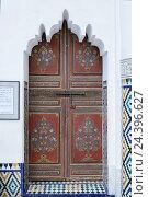 Купить «Africa, Morocco, Marrakech, Museum of Marrakech, door decorated with ornaments,», фото № 24396627, снято 22 мая 2019 г. (c) mauritius images / Фотобанк Лори