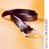 Купить «Belt, clothes accessories, leather ball belt, leather ball, belt-buckle, background, yellow, accessories, clothing, product photography, Still life», фото № 24416007, снято 7 августа 2001 г. (c) mauritius images / Фотобанк Лори
