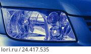 Купить «VW Bora, green, detail, headlight, manipulated, car, passenger car, outside, spectral filter, blue», фото № 24417535, снято 21 ноября 2002 г. (c) mauritius images / Фотобанк Лори