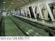 Купить «Germany, Bavaria, Munich, airport, conveyor belt, airline passengers, Europe, Upper Bavaria, Franz Josef Strauss airport, Munich II, airport terminal,...», фото № 24430111, снято 24 февраля 2003 г. (c) mauritius images / Фотобанк Лори
