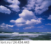 Купить «Sea, cloudy sky, waters, ocean, horizon, width, distance, endlessness, waves, heavens, blue, clouds, nature», фото № 24434443, снято 14 февраля 2003 г. (c) mauritius images / Фотобанк Лори