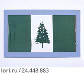Купить «Flag, Norfolk Island, flag, island, cut out, product photography, national colours», фото № 24448883, снято 21 августа 2018 г. (c) mauritius images / Фотобанк Лори