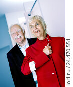Купить «Boutique, Senior couple, shopping tour, woman, jacket red, try, select, together, happy, 60-70 years, married couples, married couple, couple, senior citizens...», фото № 24470551, снято 2 декабря 2004 г. (c) mauritius images / Фотобанк Лори