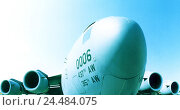 Купить «Military aircraft, Boeing C-17A, Globemaster III, US-Airforce, detail, aviation, air force, fighter aircraft, military transporter, transport plane, USAF, airplane, the military,», фото № 24484075, снято 11 октября 2005 г. (c) mauritius images / Фотобанк Лори