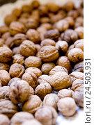 Купить «Walnuts, Stilllife,», фото № 24503931, снято 14 мая 2009 г. (c) mauritius images / Фотобанк Лори