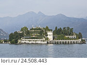 Купить «Italy, Baveno, Lago Maggiore, lake, Isola Bella, palace,», фото № 24508443, снято 24 ноября 2009 г. (c) mauritius images / Фотобанк Лори