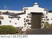 Купить «Spain, Canary islands, Lanzarote, Tiagua, Museo Agricola El Patio, gate,», фото № 24515891, снято 15 апреля 2009 г. (c) mauritius images / Фотобанк Лори