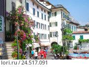 Купить «Italy, Lombardy, Gardasee, west shore, lime sul Garda, tourists,», фото № 24517091, снято 9 декабря 2009 г. (c) mauritius images / Фотобанк Лори
