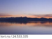Купить «Germany, Bavaria, Swabia, Lake Constance, Lindau, lakeside, sundown,», фото № 24533335, снято 23 июля 2018 г. (c) mauritius images / Фотобанк Лори