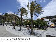 Купить «Portugal, island Madeira, Riebeira Brava, town view,», фото № 24539991, снято 15 июня 2009 г. (c) mauritius images / Фотобанк Лори