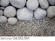 Купить «Pebbles, largely, small,», фото № 24553591, снято 29 сентября 2009 г. (c) mauritius images / Фотобанк Лори