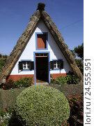 Купить «Portugal, island Madeira, Santana, open-air museum, Casas de Colmo,», фото № 24555951, снято 16 июля 2018 г. (c) mauritius images / Фотобанк Лори