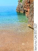 Купить «Summer Ionian sea coast, Albania.», фото № 24557527, снято 12 июля 2016 г. (c) Юрий Брыкайло / Фотобанк Лори