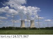 Купить «Germany, Bavaria, field Grafenrhein, nuclear power plant, Lower Franconia, nuclear power plant power station, energy, technology, industry, economy, current...», фото № 24571967, снято 25 сентября 2008 г. (c) mauritius images / Фотобанк Лори