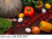 Овощи. Редакционное фото, фотограф Галина Голубь / Фотобанк Лори