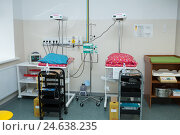 Реанимационное отделение новорожденного. Редакционное фото, фотограф Харкин Вячеслав / Фотобанк Лори