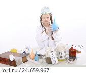 Девочка играет в доктора. Стоковое фото, фотограф Марина Володько / Фотобанк Лори