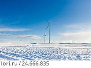 Ветрогенераторы. Стоковое фото, фотограф Константин Тронин / Фотобанк Лори