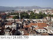 Купить «Europe, Croatia, Dalmatia, Adriatic, the Mediterranean Sea, Split, town overview,», фото № 24685799, снято 21 августа 2018 г. (c) mauritius images / Фотобанк Лори