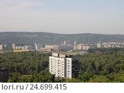 Город Новокузнецк, Кемеровская область, Сибирь (2016 год). Стоковое фото, фотограф Алёна Кухтина / Фотобанк Лори