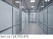Купить «Коридор в офисном центре», эксклюзивное фото № 24733415, снято 15 декабря 2016 г. (c) Алёшина Оксана / Фотобанк Лори