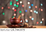Праздничный кофе на столе. Стоковое фото, фотограф Глыцко Андрей / Фотобанк Лори