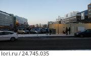 Stockhom city view. Стоковое видео, видеограф Павел Котельников / Фотобанк Лори