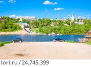 Купить «Панорамный вид на город Калуга», фото № 24745399, снято 29 мая 2016 г. (c) Рожков Юрий / Фотобанк Лори