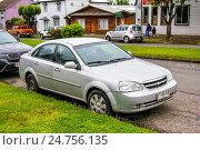 Купить «Chevrolet Lacetti», фото № 24756135, снято 20 ноября 2015 г. (c) Art Konovalov / Фотобанк Лори